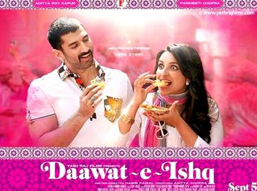 Aditya roy kapur,Parineeti Chopra,deewat-e-ishq official trailer,official trailer of daawat-e-isha,daawat-e-isha trailer,daawat e ishq trailer release date