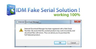If You Are Facing The Same Problem which I Do In Past Regarding The Idm Fake Serial Key Registered Then Don't Worry I Find Out The Very Simple And Innovated solution that How To Solve IDM Fake Serial Key Number Without Any Software. Absolutely everyone is knows regarding 'Internet Download Manager' ( IDM ) . You may have already been using this type of practical application because it allows you to download and install data files from internet at high-speed . In my opinion , this really is from considered one of the best software to be used for links to download and install data files from world wide web . However you may possibly have been experiencing the pop-up that 'IDM had been registered with the Fake serial number ' . Read more: http://www.trendyupdates.com/how-to-solve-idm-fake-serial-key-number-without-any-software/#ixzz3huZsYkcr